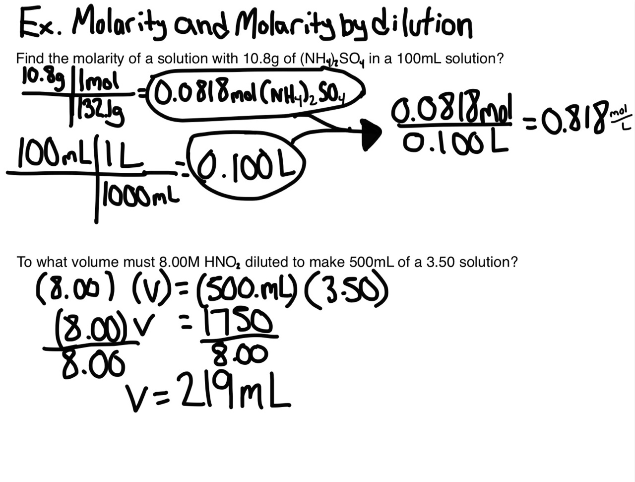 Single Stoichiometry Uses Mole Ratios Which Are The Coefficients In A  Chemical Equation The Coefficients Can Represent The Number Of Molecules,  Or Atoms,