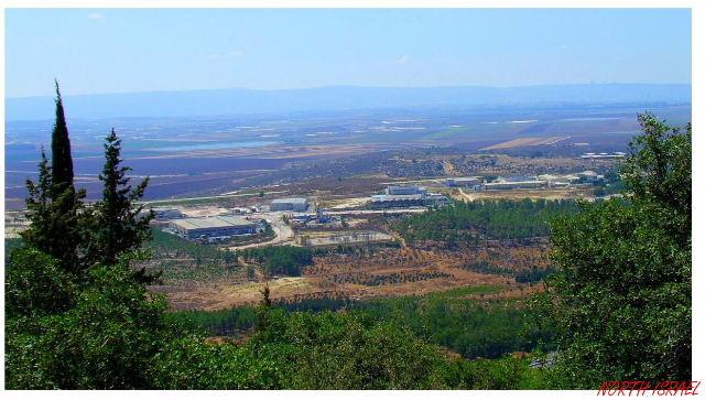 בנפט מחוז הצפון, מפת צפון הגולן, אטרקציות בצפון, פארקים לאומיי... TK-15