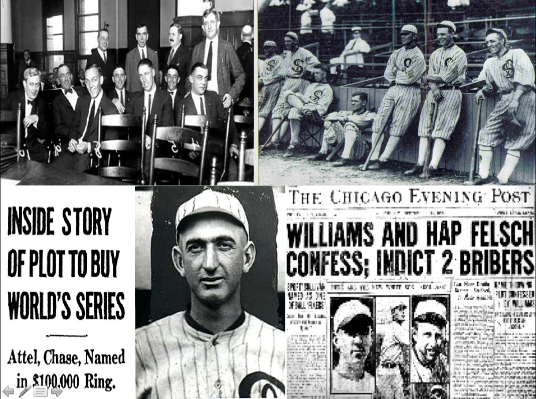 chicago black sox scandal brief summary essay Browse through the official online shop of major league baseball and find your piece of history red sox celebrate chicago american giants.