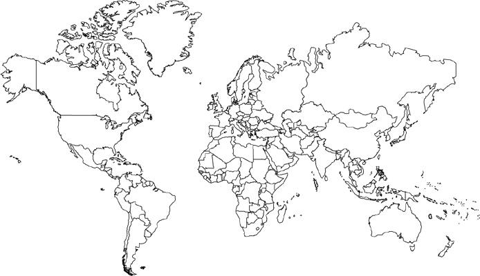 social studies map