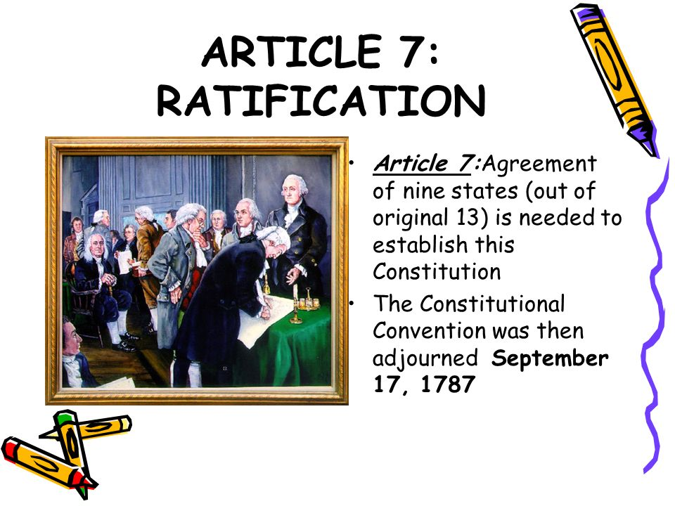 1 Ratifying the Constitution