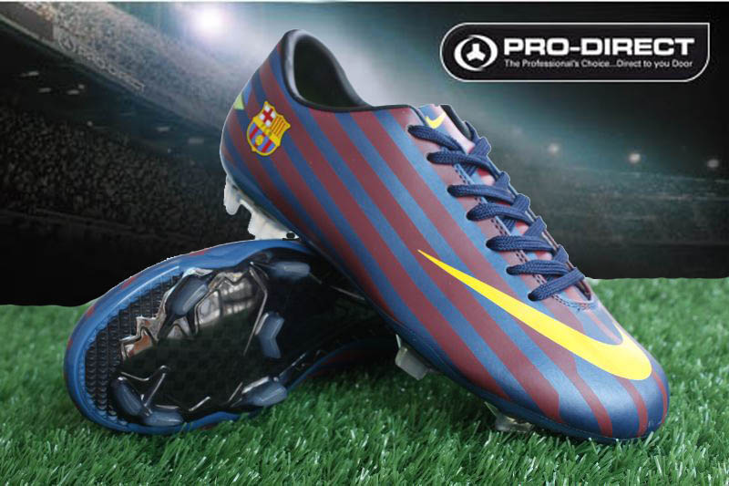 These are barcelona s soccer cleats that they wore in the... 875e5faf1
