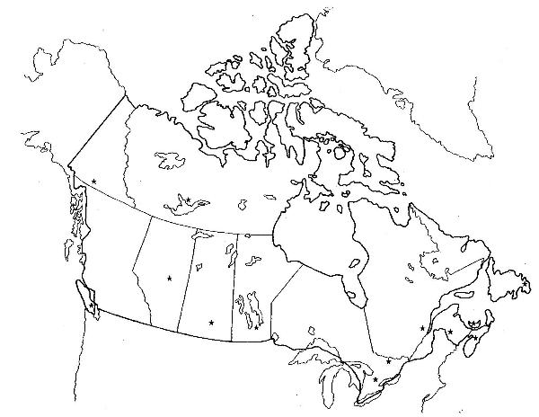 Physical Map Of Canada By Aaron Park ThingLink - Physical features map of canada