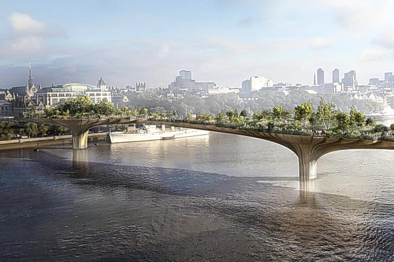 The Garden Bridge by numbers ThingLink