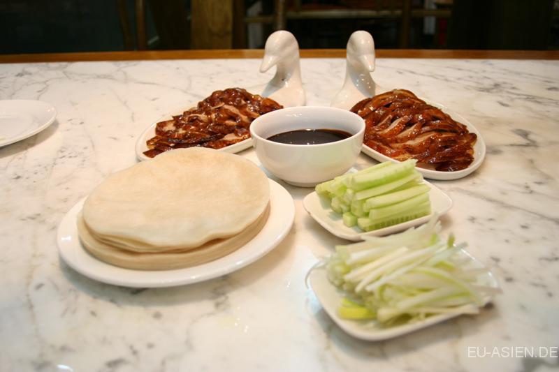 Traditionelle Chinesische Kuche Peking Ente Beilage G