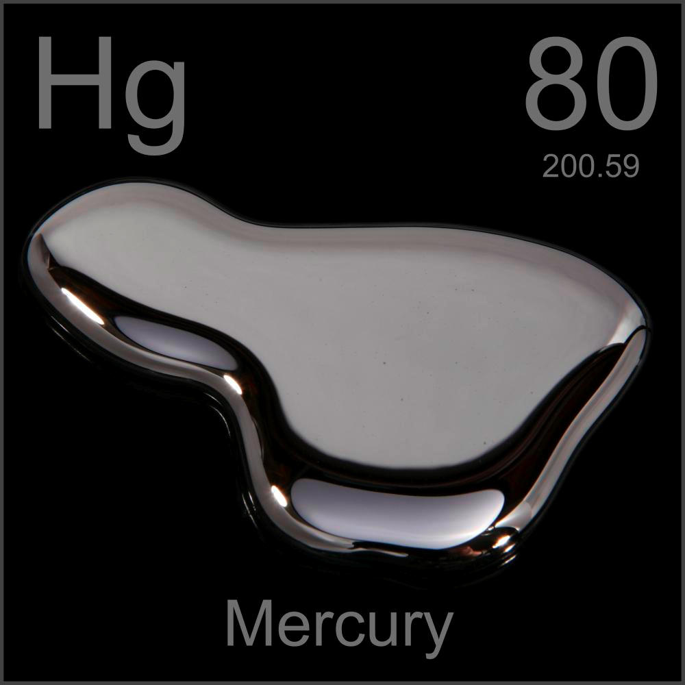 The Atomic Number Of Mercury Is 80 The Atomic Symbol Of
