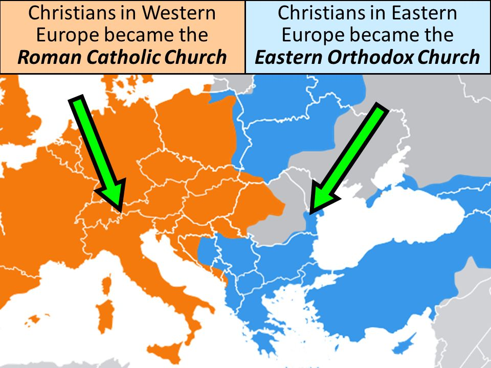 east west schism What was the cause of the great schism between the eastern orthodox  in the  west in rome, which spoke latin, and in the east in antioch, alexandria,.