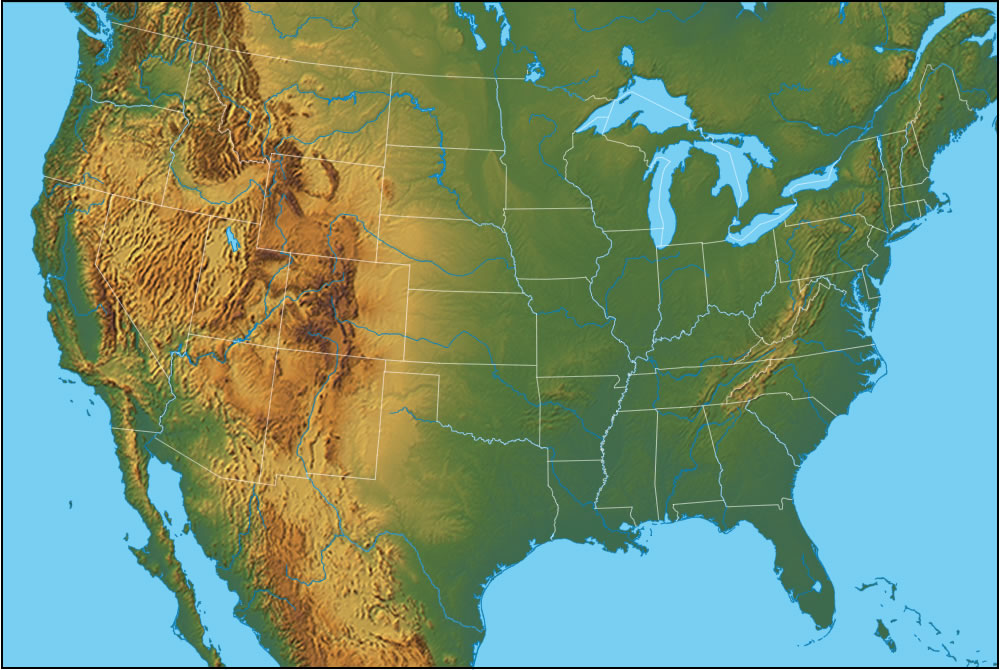 Geographical Regions Of The United States ThingLink - Map of us geographic regions