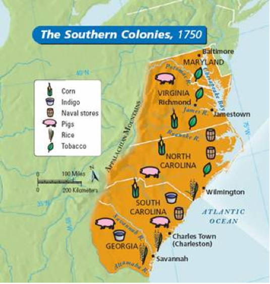 colonies united between 1750 and 1776