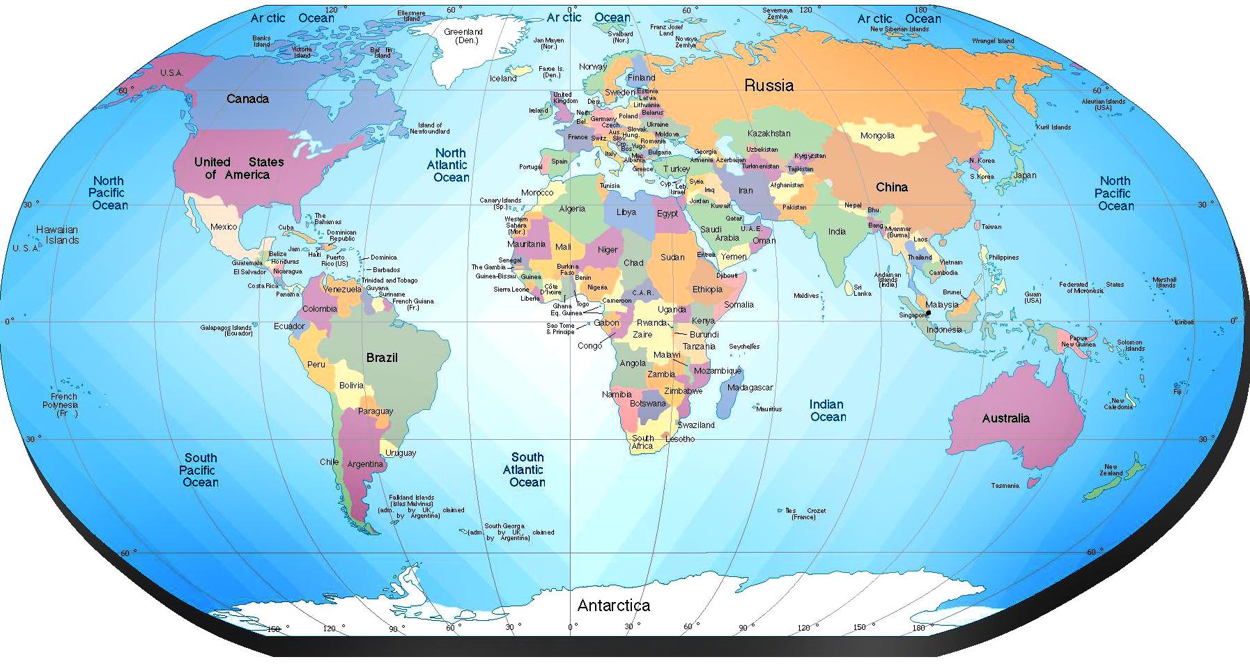 Mapa del Mundo - ThingLink