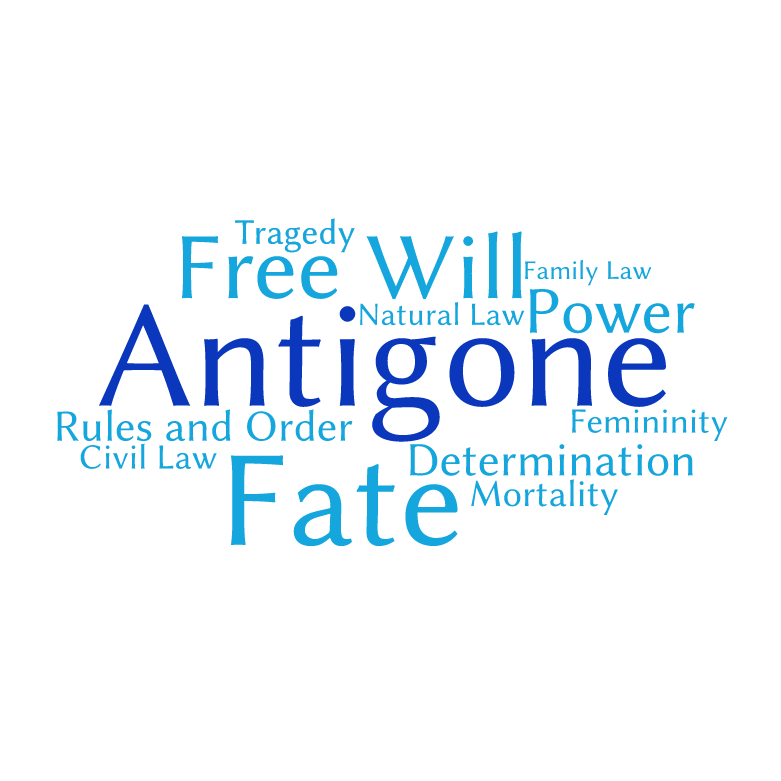 what are the themes of antigone