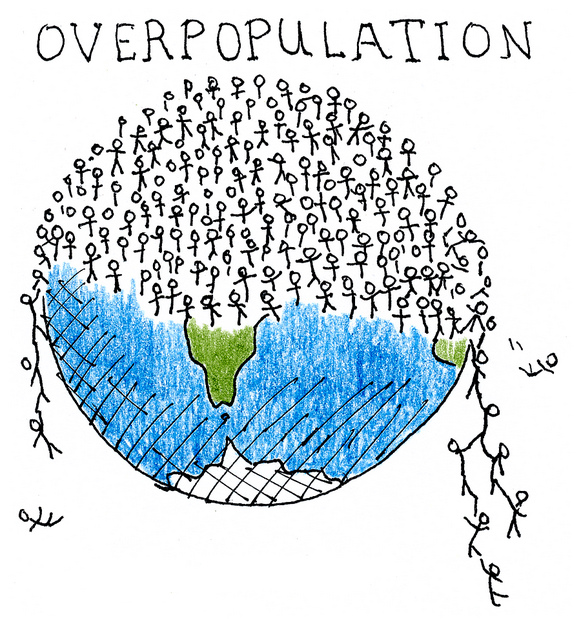 overpopulation thinglink