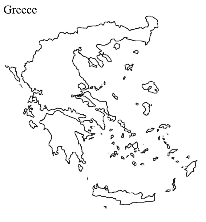 Worksheet Ancient Greece Map Blank ruby wakeling ancient greece thinglink