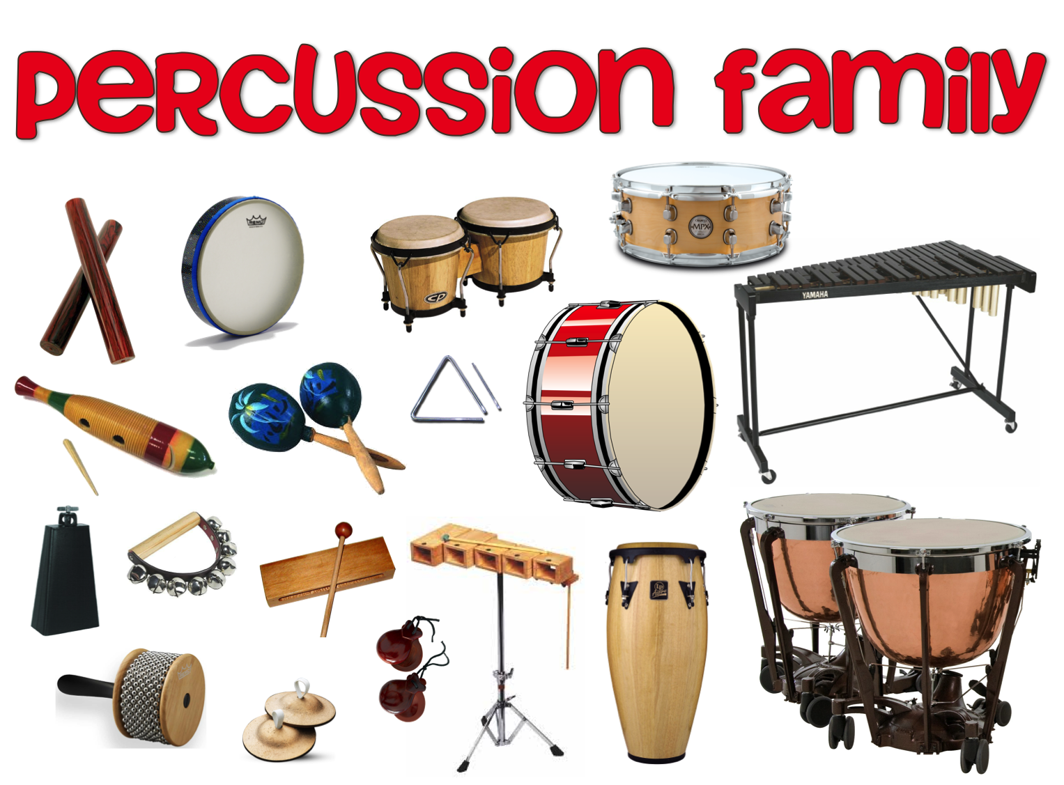 Percussion Family - Lessons - Tes Teach