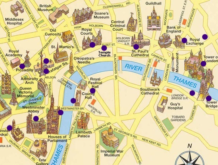 Carte interactive de Londres   ThingLink