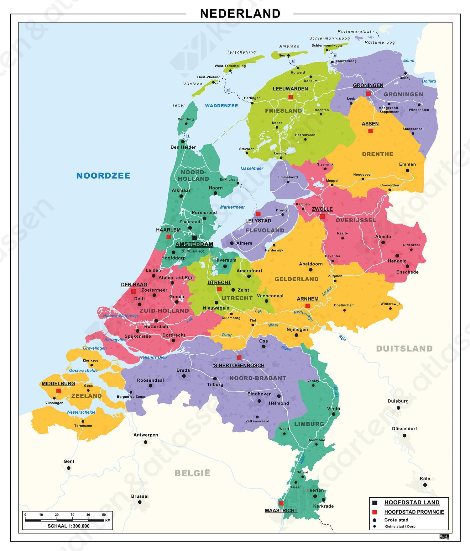 Generlee Blauw Nederland