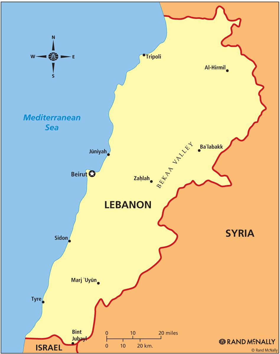 Lebanon ThingLink