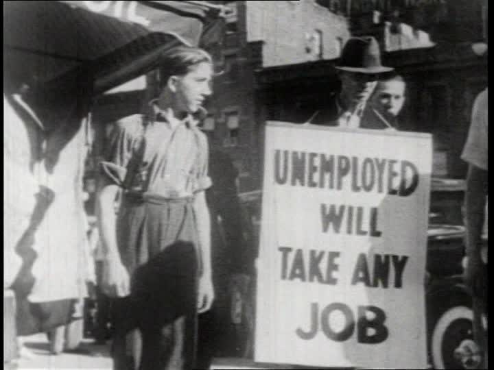 the great depression americas economic downfall