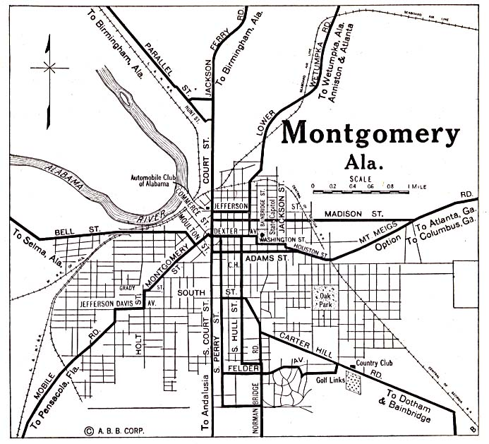 Map Of Montgomery ThingLink - Montgomery al map