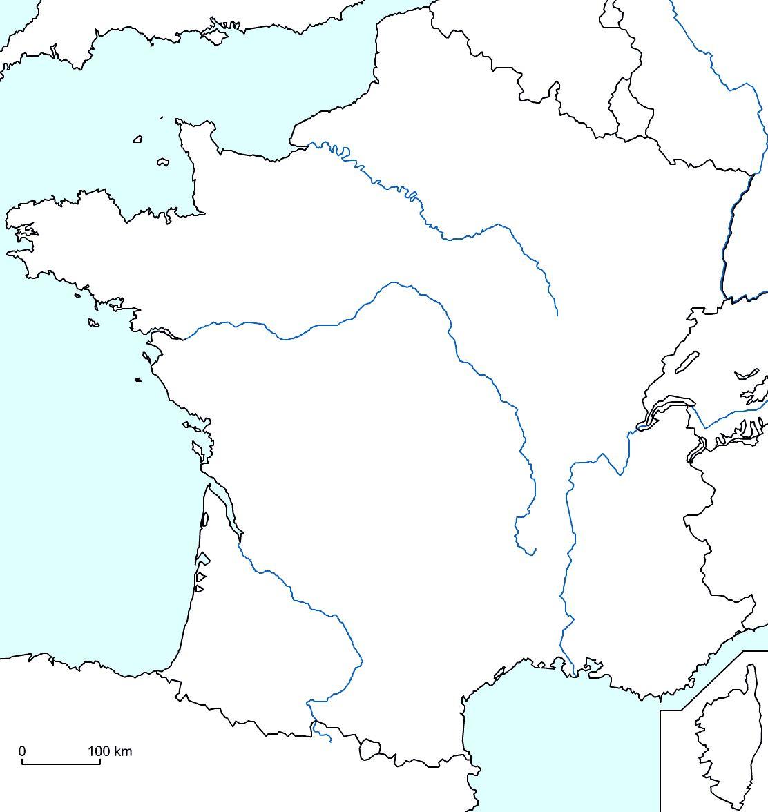 Exercice Carte De France   My blog