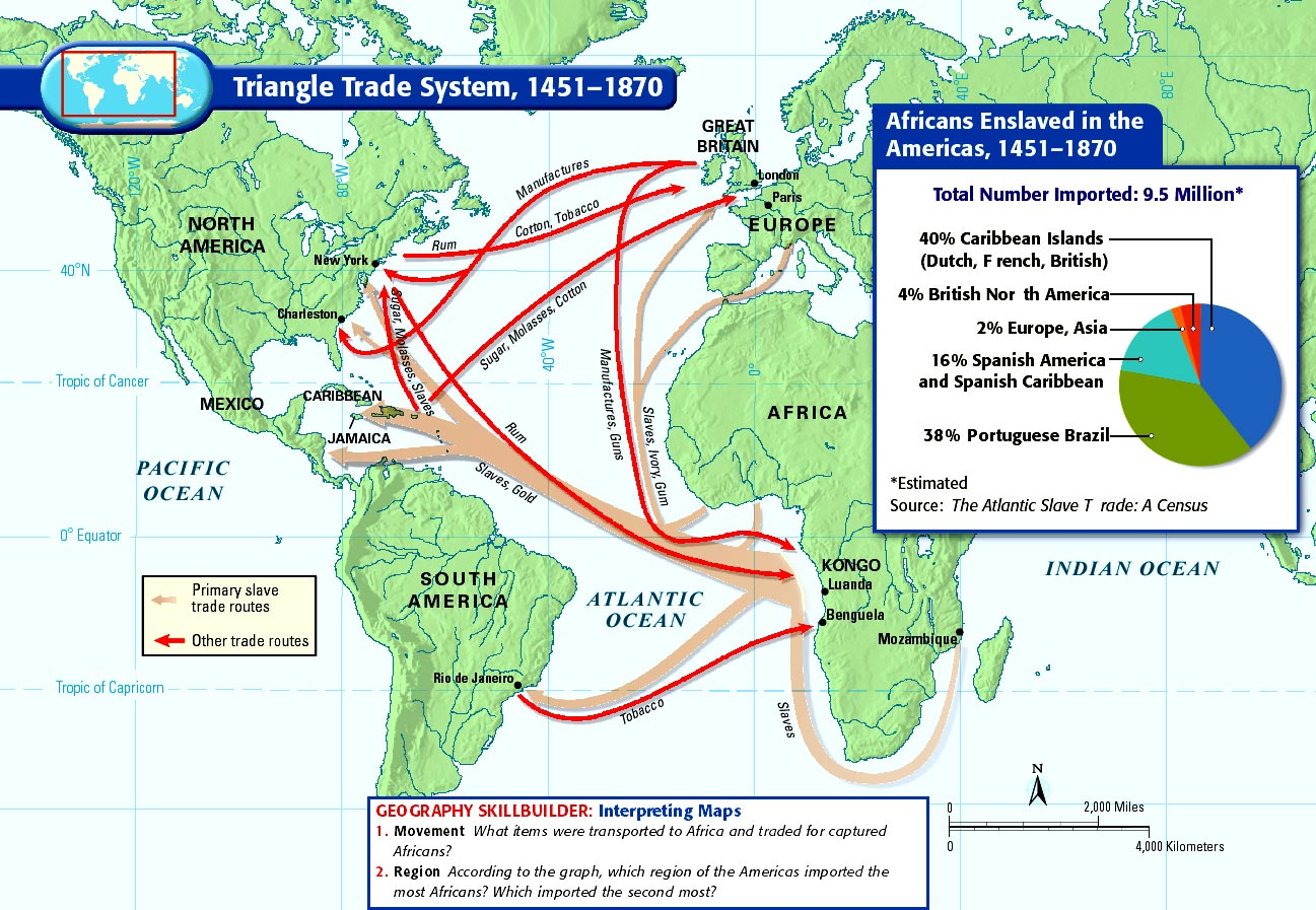 triangular slave trade essay Slave trade was at the highest the impacts of the african slave trade history essay print the triangular atlantic slave trade is believed to have been the.