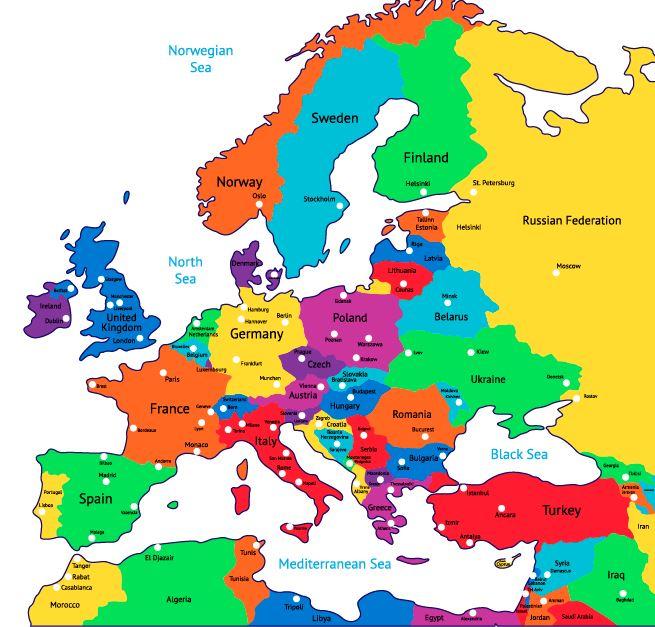 Euroopan Kohteita Ja Nahtavyyksia