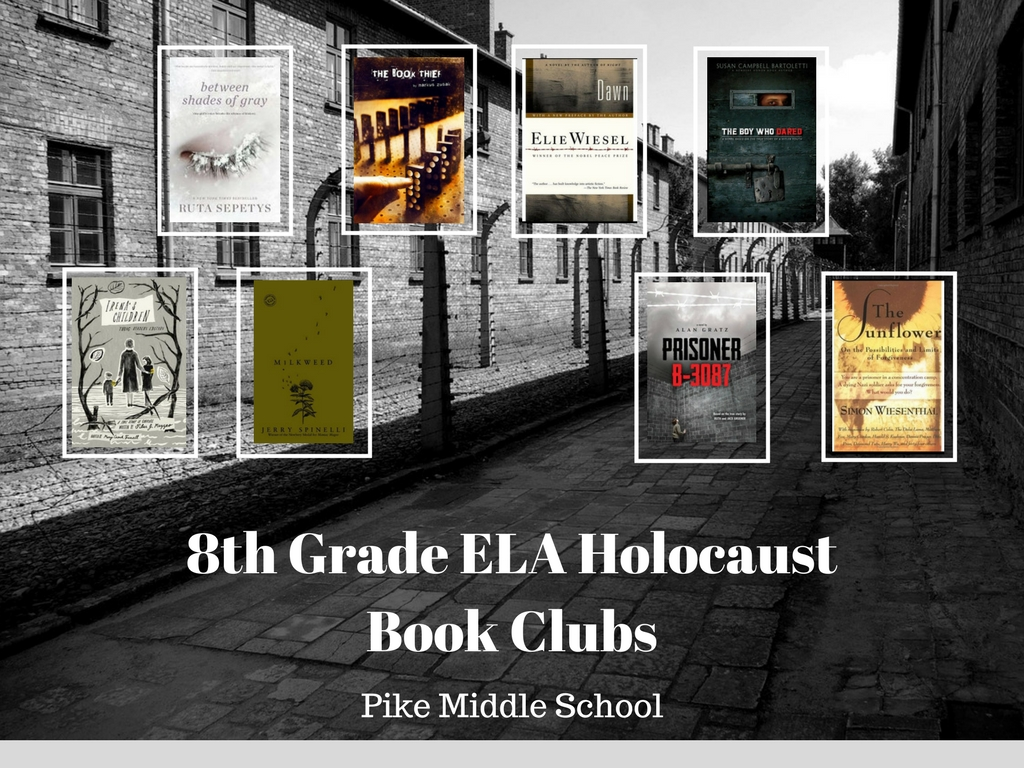 8th Grade Ela Holocaust Book Club
