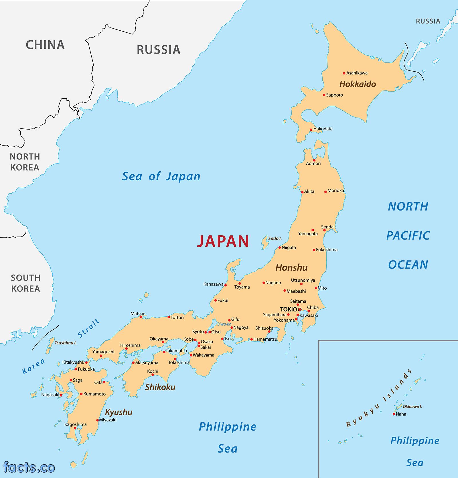 Japan Map ThingLink - Japan map png