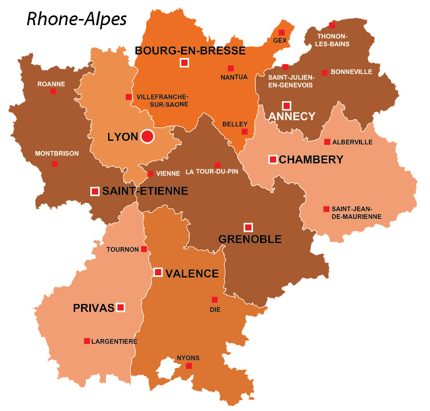 Lyon A City In France S Historical Rhone Alpes Region S