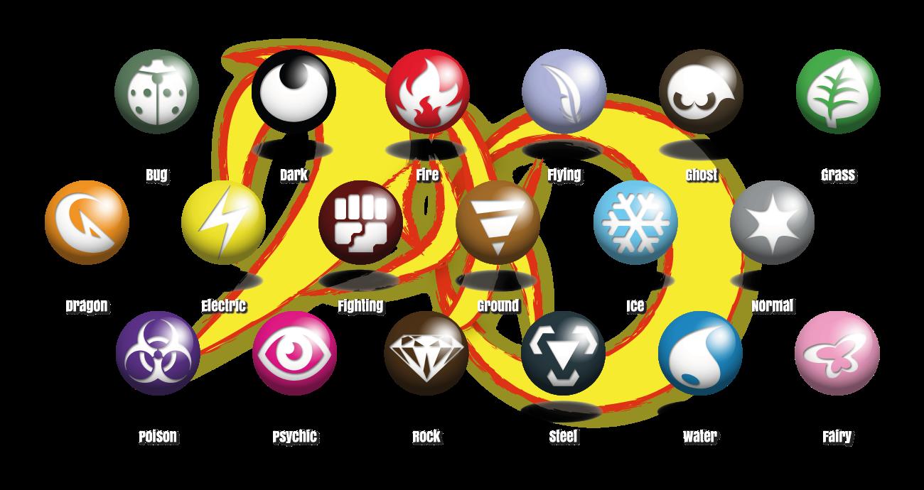 картинки таблицы типов покемонов трубочек зависит