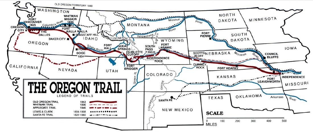 The Oregon Trail by KDen Jayden Aerick Jase  ThingLink