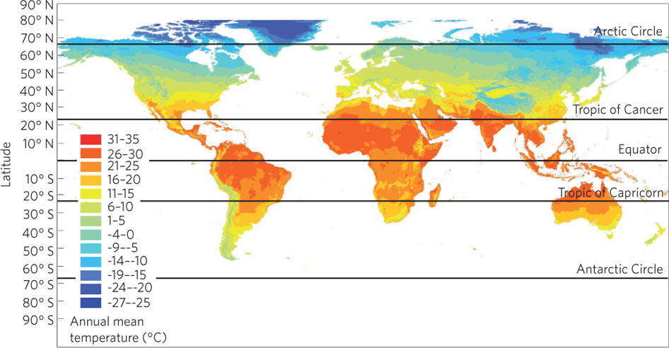 World Weather Map