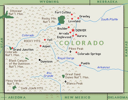 Colorado Map And Information ThingLink - State of colorado map