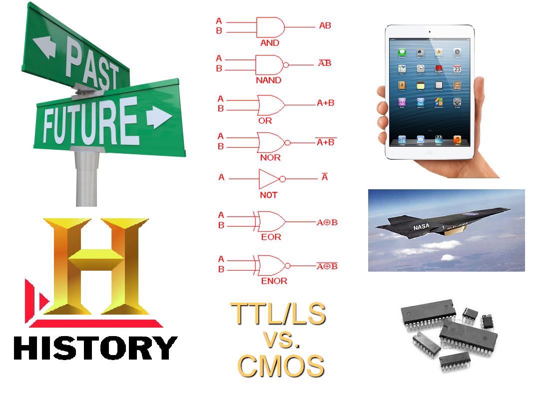 TTL VS CMOS