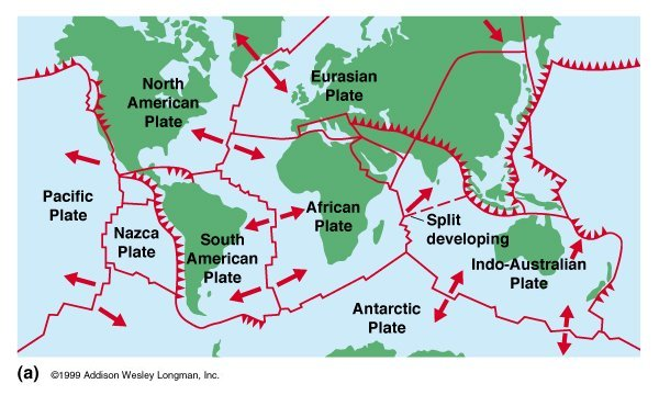 Plate Boundaries ThingLink - Plate tectonics map
