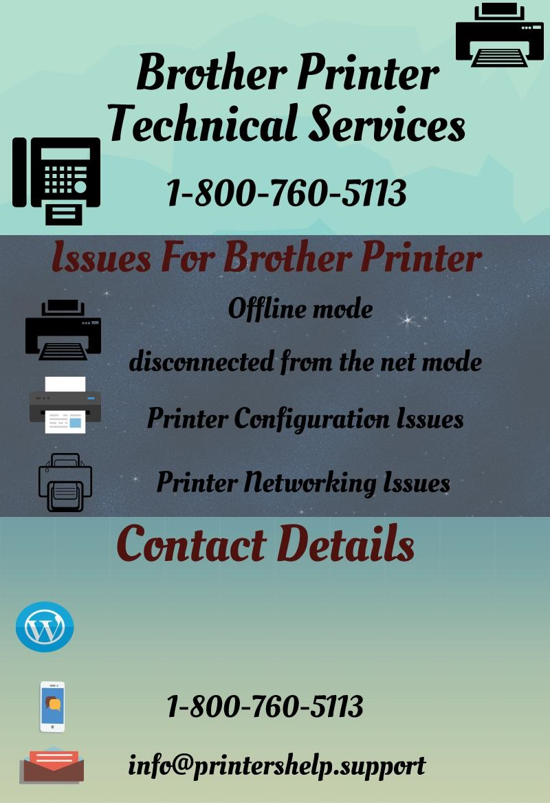 Brother Printer Offline Customer Support - ThingLink