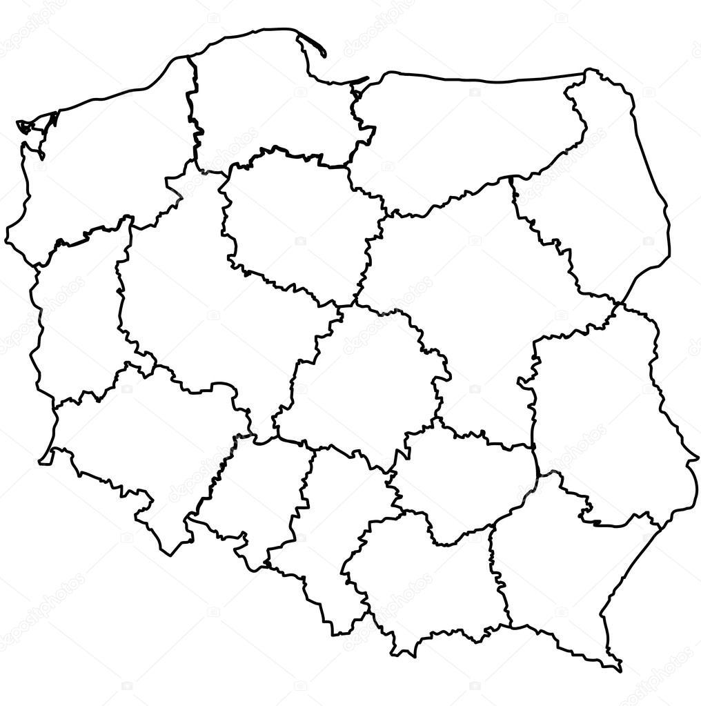 Mapa Polski Historyczna