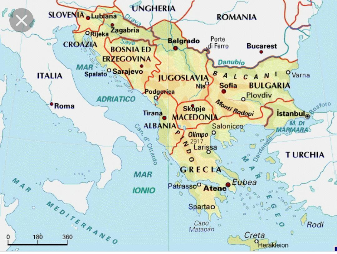 Cartina Slovenia Pdf.123scuola Com Ii Media Unita 8 La Regione Balcanica