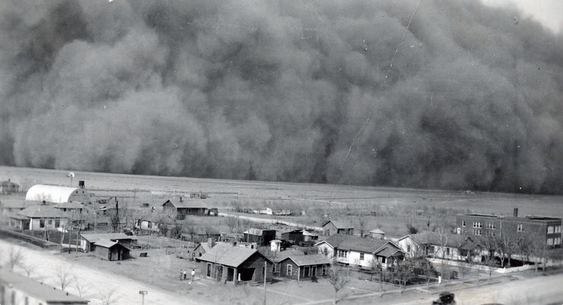 an overview of the catastrophe of dust bowl of north america the early 1930s The dust bowl: an iconic catastrophe from oklahoma during the dust bowl in the late 1930s revolution mesoamerican bohemia north america scandinavian native.