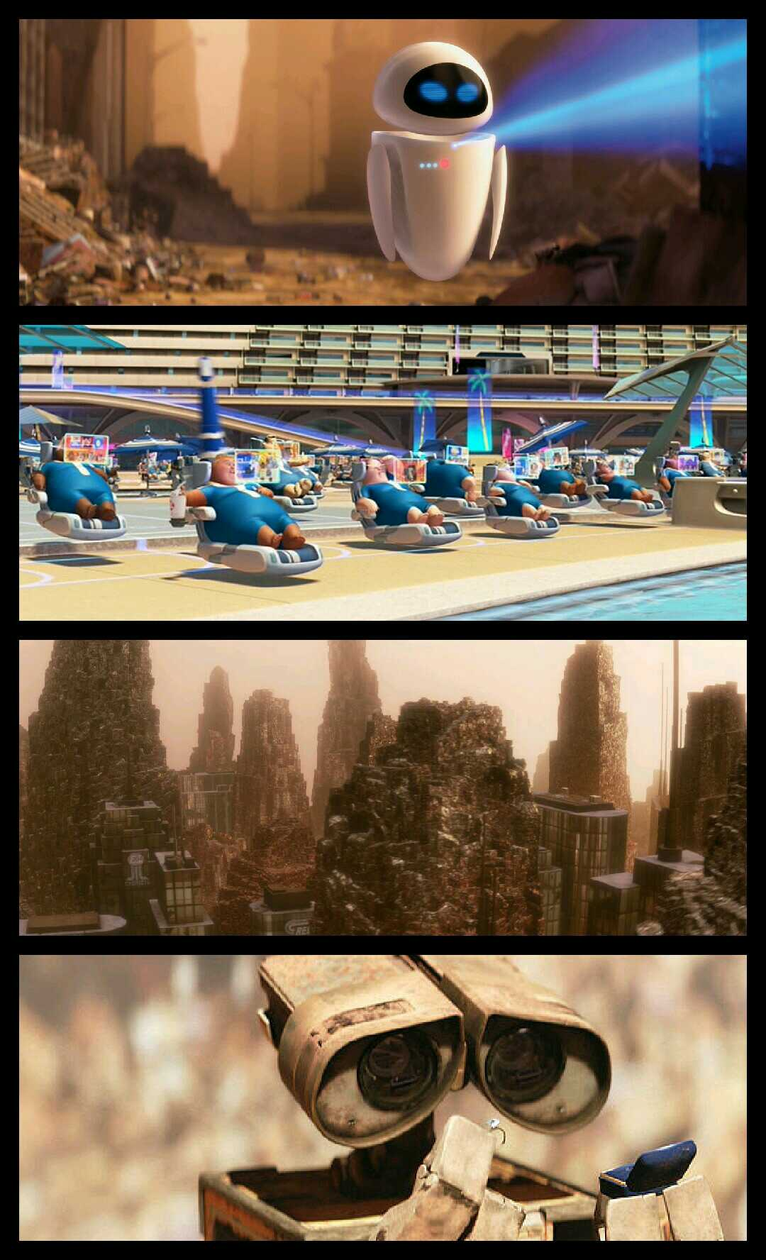 Satire Examples In The Movie Wall E