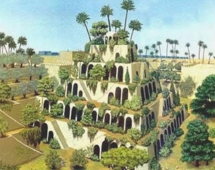 the Hanging Gardens of Babylon