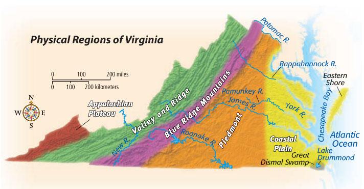 BT Trekkers  Regions of Virginia  ThingLink