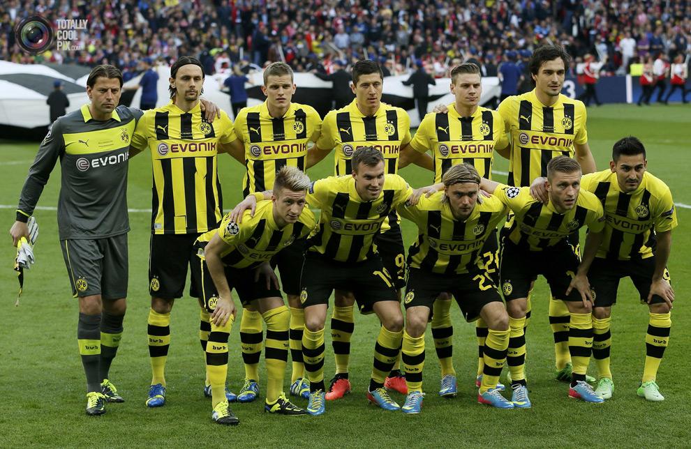 Borussia Dortmund squad Champions League Final 2013