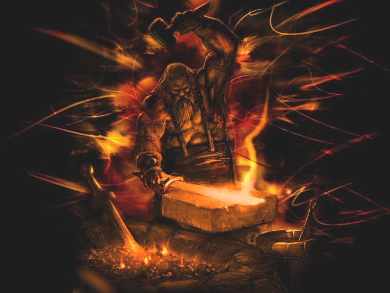 Hephaestus Greek God Of Smithing And Fire
